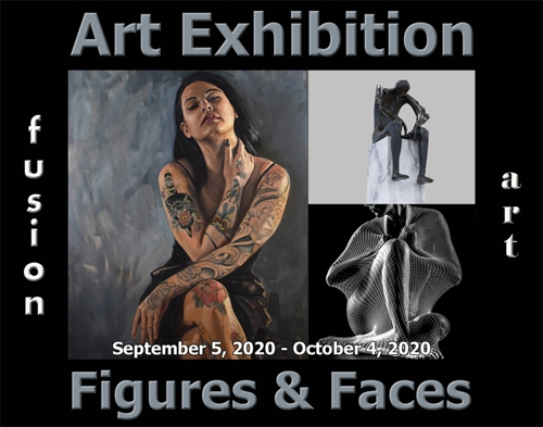 Fusion Art Announces the Winners of the 6th Annual Figures & Faces Art Exhibition image