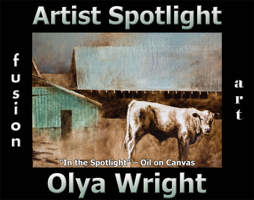 Olya Wright Wins Fusion Art's Artist Spotlight Solo Art Exhibition for September 2020 image