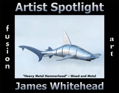 James Whitehead Wins Fusion Art's Artist Spotlight Solo Art Exhibition for September 2020 image