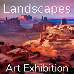 """10th Annual """"Landscapes"""" 2020 Art Exhibition Winning Artists Announced image"""
