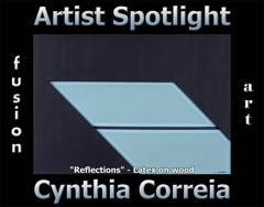 Cynthia Correia Wins Fusion Art's Artist Spotlight Solo Art Exhibition for October 2020 image