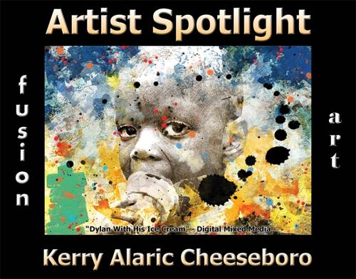 Kerry Alaric Cheeseboro Wins Fusion Art's Artist Spotlight  Solo Art Exhibition for October 2020 image