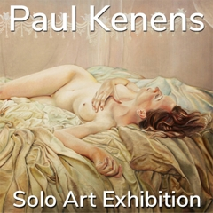 Paul Kenens is Awarded a Solo Art Exhibition image