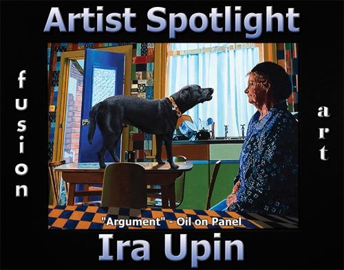 Ira Upin Wins Fusion Art's Artist Spotlight Solo Art Exhibition for November 2020 image