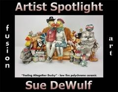 Sue DeWulf Wins Fusion Art's Artist Spotlight Solo Art Exhibition for November 2020 image