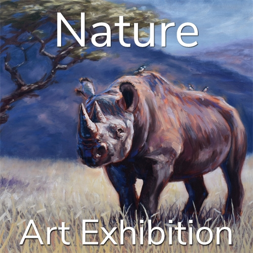 "10th Annual ""Nature"" 2020 Art Exhibition Winning Artists Announced image"
