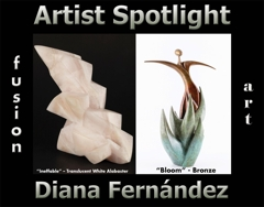Diana Fernández Wins Fusion Art's Artist Spotlight Solo Art Exhibition for January 2021 image