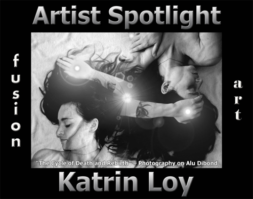 Katrin Loy Wins Fusion Art's Artist Spotlight  Solo Art Exhibition for February 2021 image
