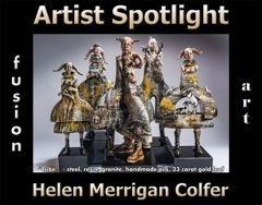 Helen Merrigan Colfer Wins Fusion Art's Artist Spotlight Solo Art Exhibition for February 2021 image