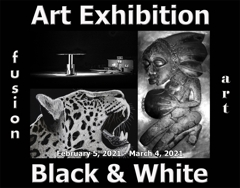Fusion Art Announces the Winners of the 5th Annual Black & White Art Exhibition image