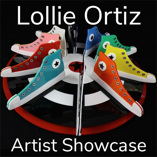 Lollie Ortiz is Awarded an Artist Showcase Feature image