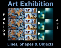 Fusion Art Announces the Winners of the 3rd Annual Lines, Shapes & Objects Art Exhibition image