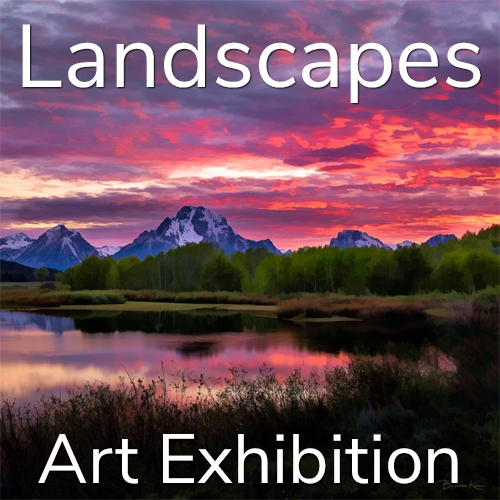 """11th Annual """"Landscapes"""" 2021 Art Exhibition Winning Artists Announced image"""