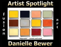 Danielle Bewer Wins Fusion Art's Artist Spotlight Solo Art Exhibition for July 2021 image