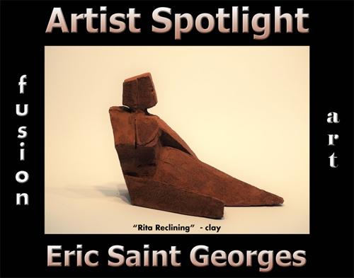 Eric Saint Georges Wins Fusion Art's Artist Spotlight Solo Art Exhibition for August 2021 image
