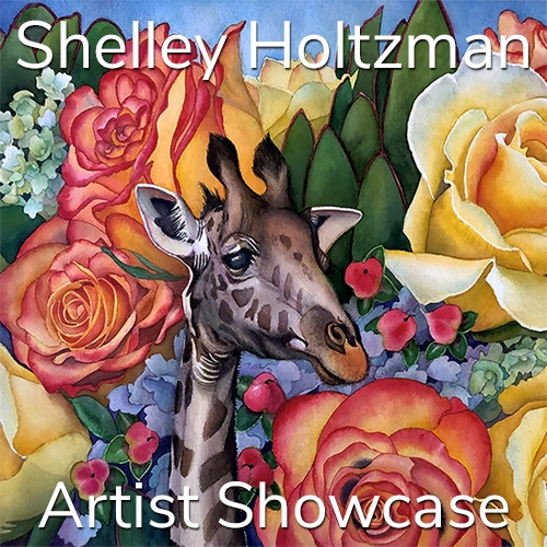 Shelley Holtzman is Awarded an Artist Showcase Feature image