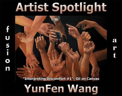 YunFen Wang Wins Fusion Art's Artist Spotlight Solo Art Exhibition for September 2021 image