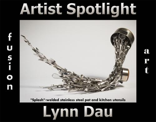 Lynn Dau Wins Fusion Art's Artist Spotlight  Solo Art Exhibition for September 2021 image