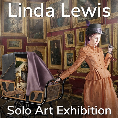 Linda Lewis is Awarded a Solo Art Exhibition image